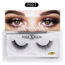 3D Warping and Soft Cuticles with False Eyelashes -