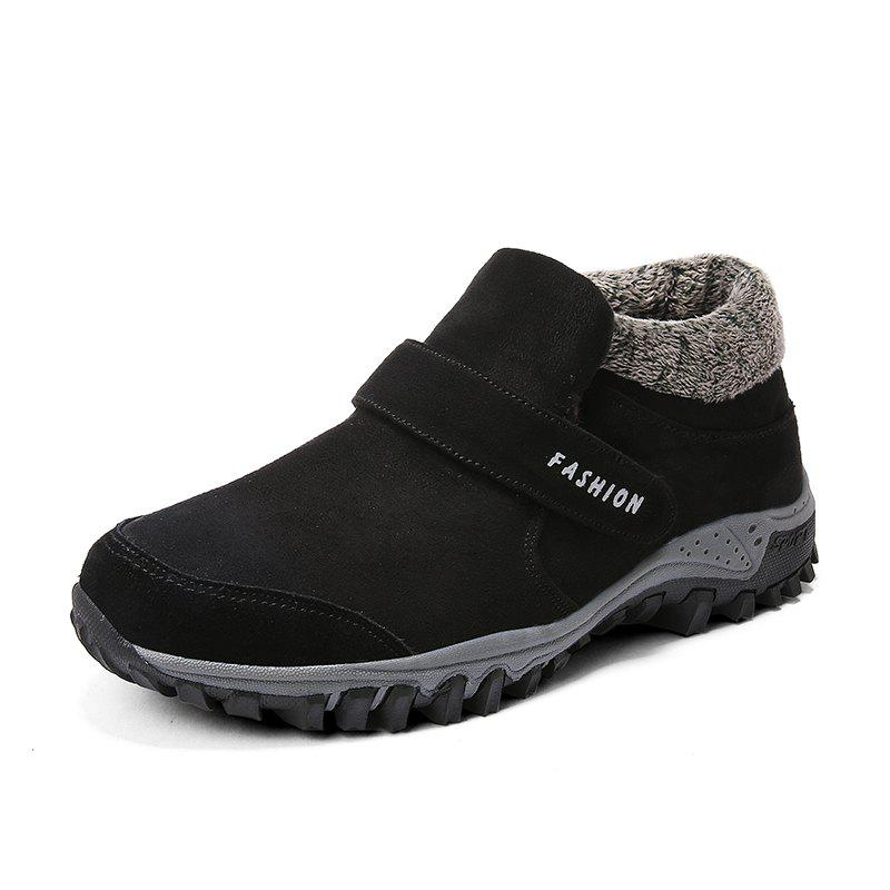 Fashion Men's Outdoor Keep Warm Cotton Shoes Casual Sport Snow Boot Winter