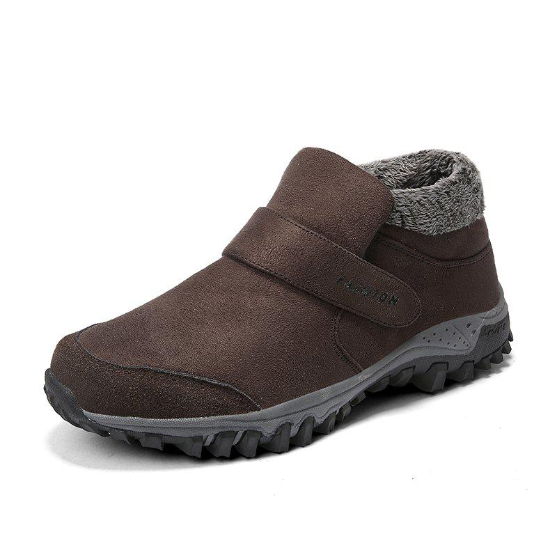 Affordable Men's Outdoor Keep Warm Cotton Shoes Casual Sport Snow Boot Winter