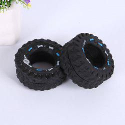 2PSC Pet Toy with Sound of Vinyl Tire Is A Dog Toy with Bite Resistance -