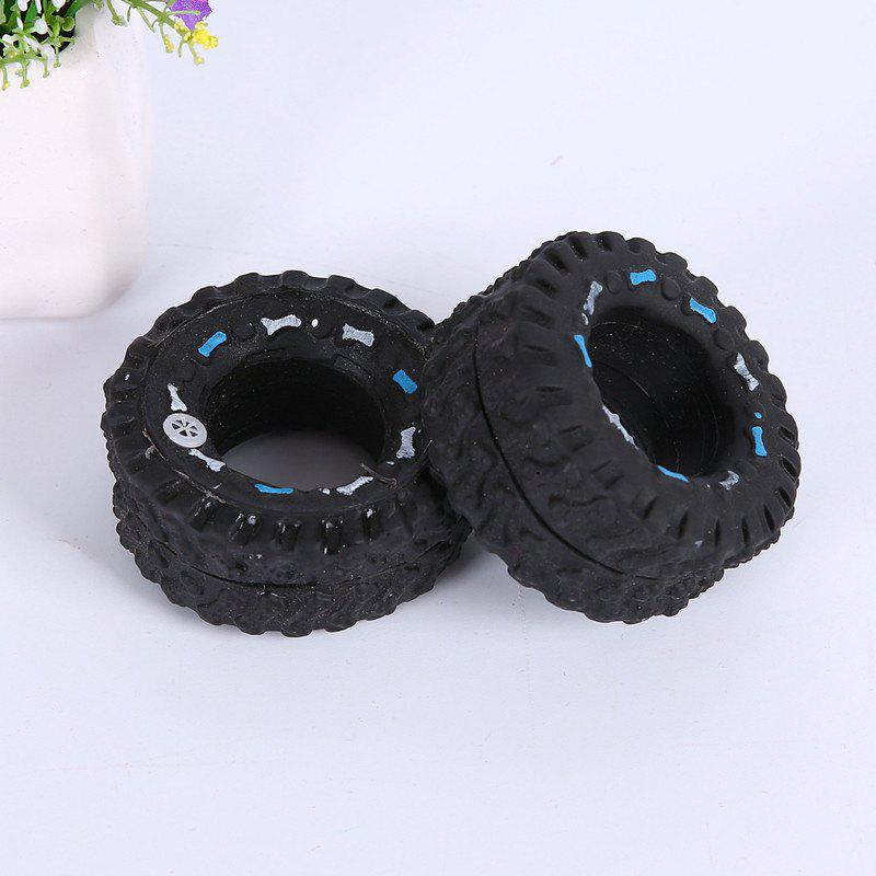 Sale 2PSC Pet Toy with Sound of Vinyl Tire Is A Dog Toy with Bite Resistance