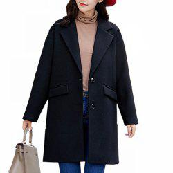 Women'S Wild Long-Sleeved Fashion Casual  Overcoat -