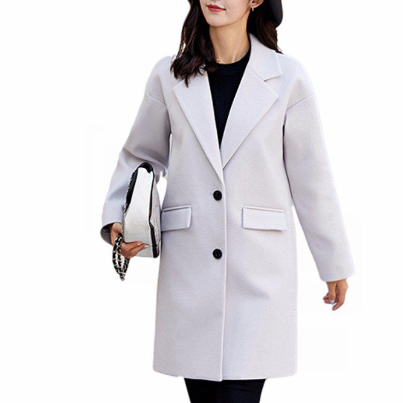 Outfit Women'S Wild Long-Sleeved Fashion Casual  Overcoat