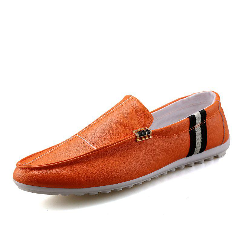 Outfits 2018 New Spring and Autumn Loafer Trend Slip On Men Casual Shoes