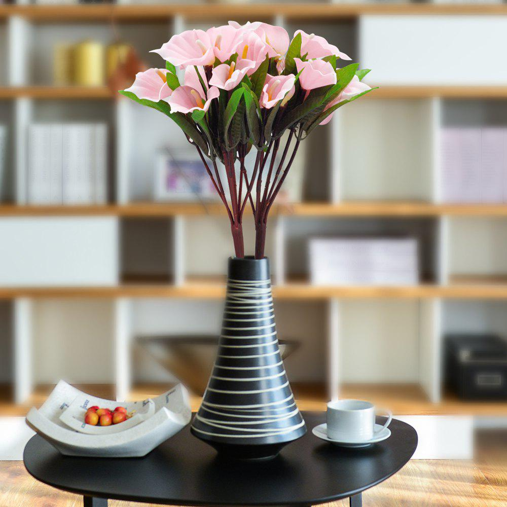 Trendy A Bouquet Of 9 Heads Calla Lily Home Decor Artificial Flower