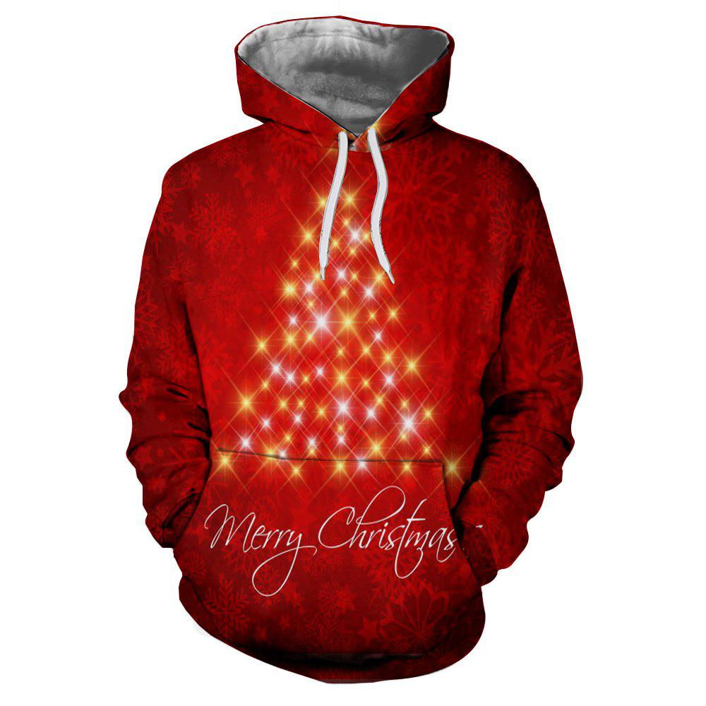 Outfit Ladies New Casual Fashion Christmas 3D Printing Hoodie