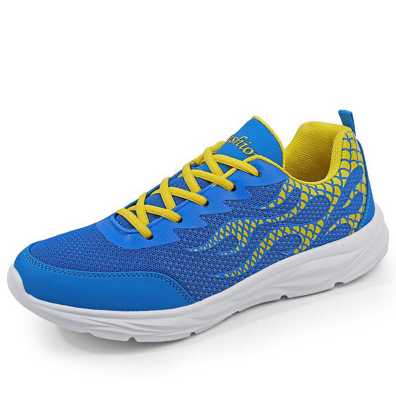 Shop Men Mesh Lightweight Breathable Casual Sports Shoes