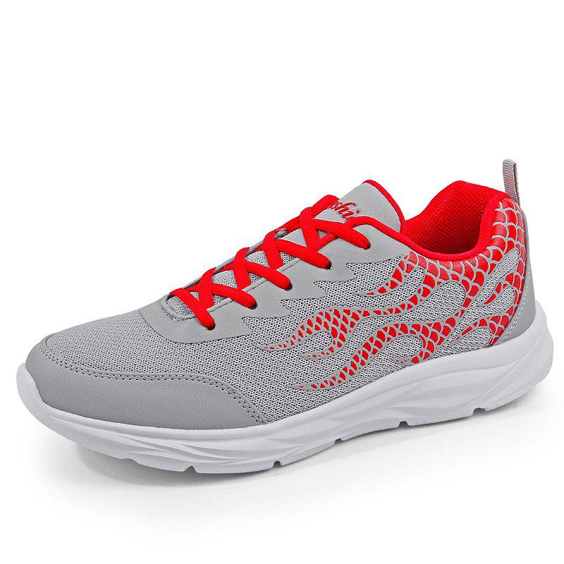 Latest Men Mesh Lightweight Breathable Casual Sports Shoes