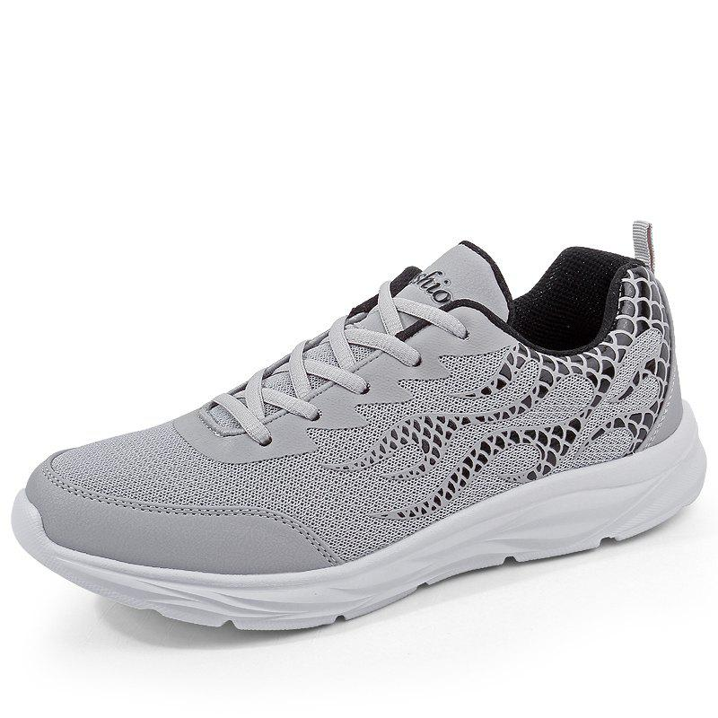 New Men Mesh Lightweight Breathable Casual Sports Shoes