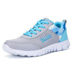 Women Casual Hollow Mesh Breathable Lightweight Sneakers -