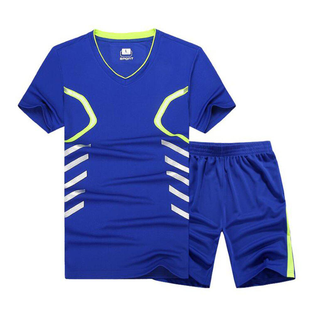 Fashion Fast Dry Exercise Set Outdoor Running Sportswear Fat Up To 9XL