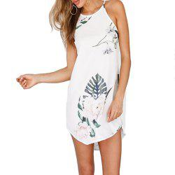 Digital Print Sling Dress -