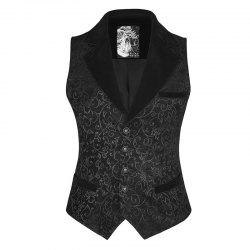 Fashion Slim Printing Men's Waistcoat for Prom Party -