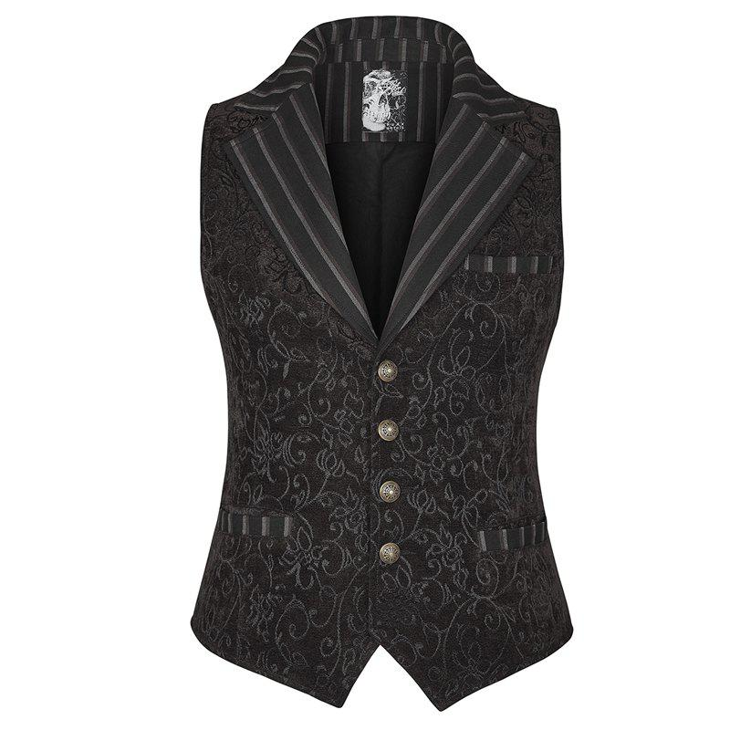 Sale Fashion Slim Printing Men's Waistcoat for Prom Party