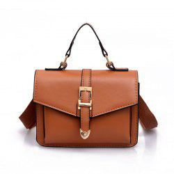 Women's Crossbody Bag Solid Color PU All Match Simple Style Crossbody Bag -