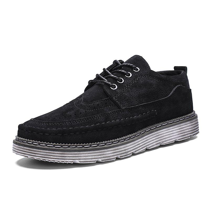 Hot ZEACAVA Men's Fashion Big Casual Shoes Oxford Shoes