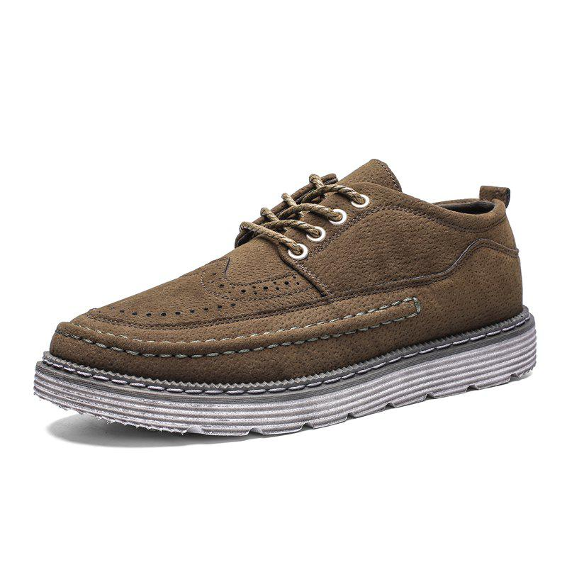 New ZEACAVA Men's Fashion Big Casual Shoes Oxford Shoes