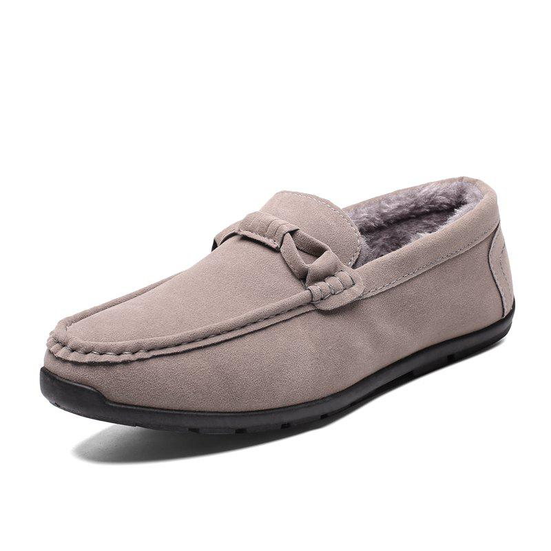 Sale Tide Fashion Low Top Driving Men Casual Shoes Slip on