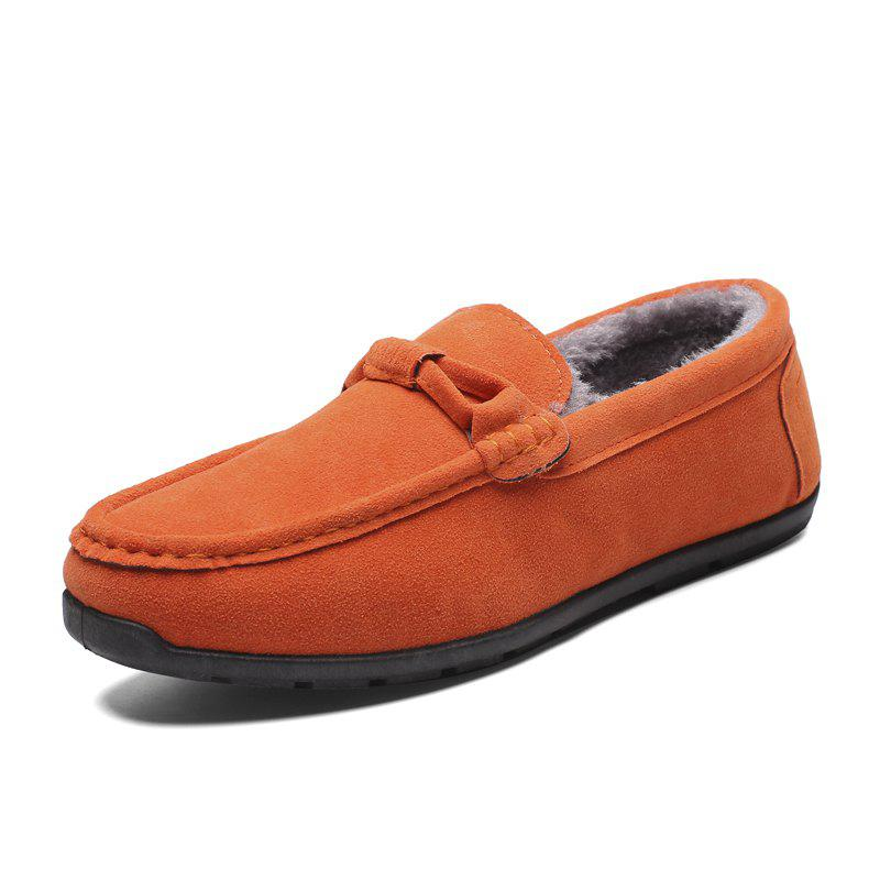 Affordable Tide Fashion Low Top Driving Men Casual Shoes Slip on