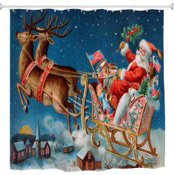 Масляная живопись Santa Claus 3D Digital Printing Fabric Waterproof and Mildewproof -