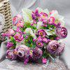 A Bouquet of 5 Heads Peony Home Decoration Branch of Artificial Flowers -