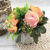 Artificial Flower Mini Potted Plant Office Office Decoration Plant -