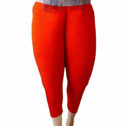 Women's Fashion Popular Solid Color Loose Harem Chicken Leggings Pants -