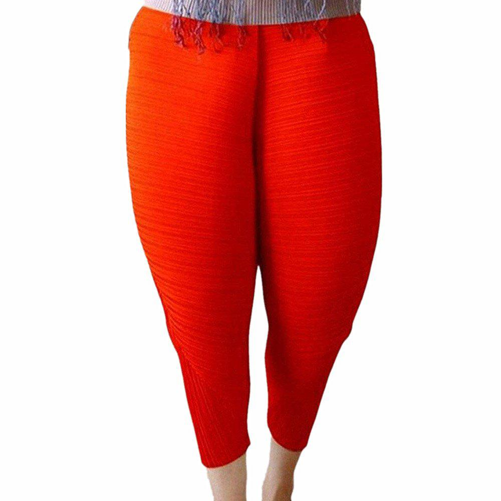 Trendy Women's Fashion Popular Solid Color Loose Harem Chicken Leggings Pants