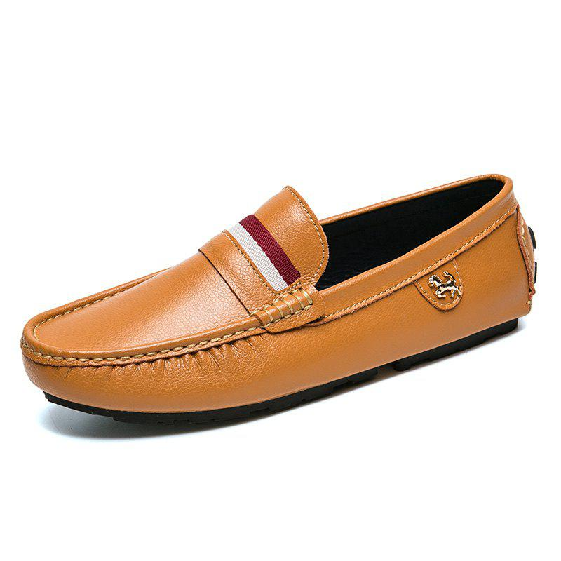 Outfit Mens Casual Fashion Bean Shoes