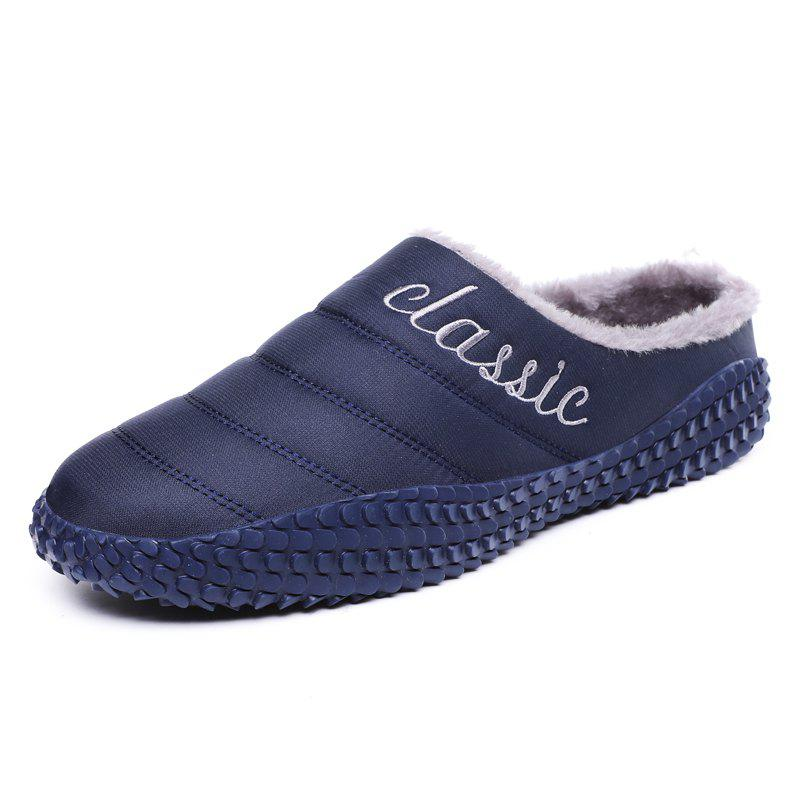 Store Men Warm Non-Slip Indoor Casual Cotton Shoes