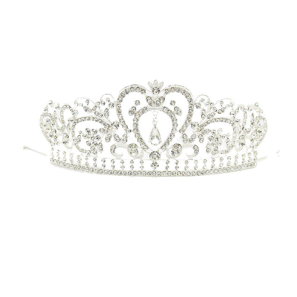 Outfit Baroque Queen King Bride Tiara Crown For Women