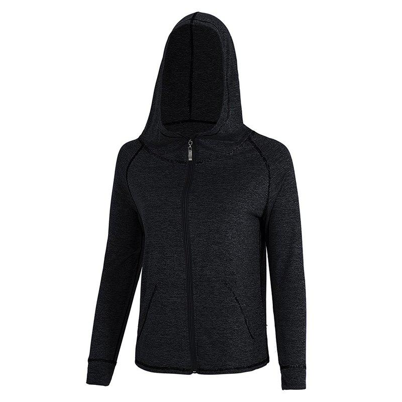 Affordable Quick-drying Outdoor Sports Hooded Jacket Yoga Clothes