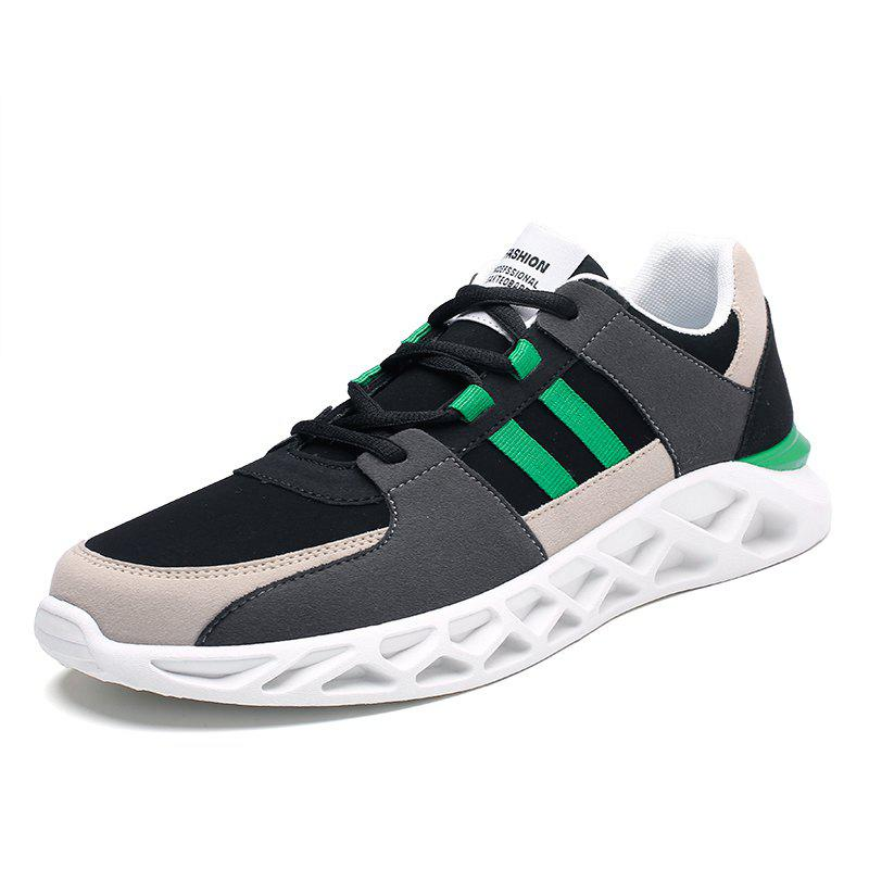 Shops Men Sports Shoes Fashion Running Shoes Lace Up Spring Autumn