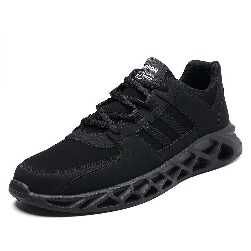 Shop Men Sports Shoes Fashion Running Shoes Lace Up Spring Autumn