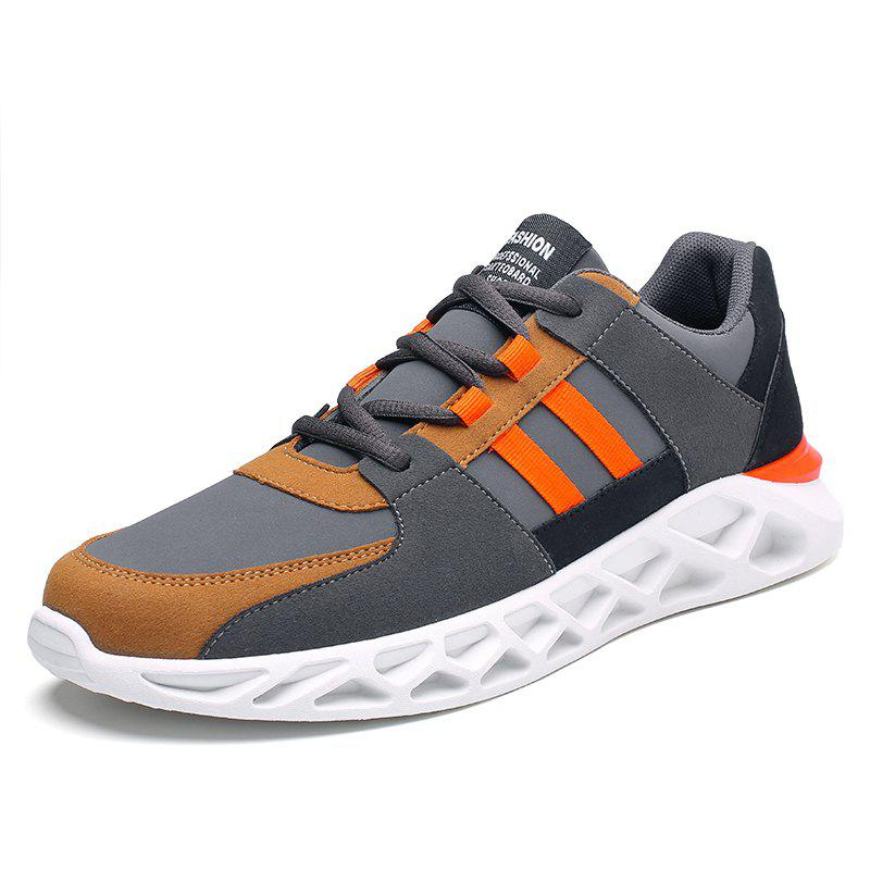 Online Men Sports Shoes Fashion Running Shoes Lace Up Spring Autumn