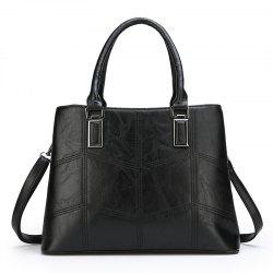 Bucket Shaped Large Capacity Single Shoulder Ladies Handbag -