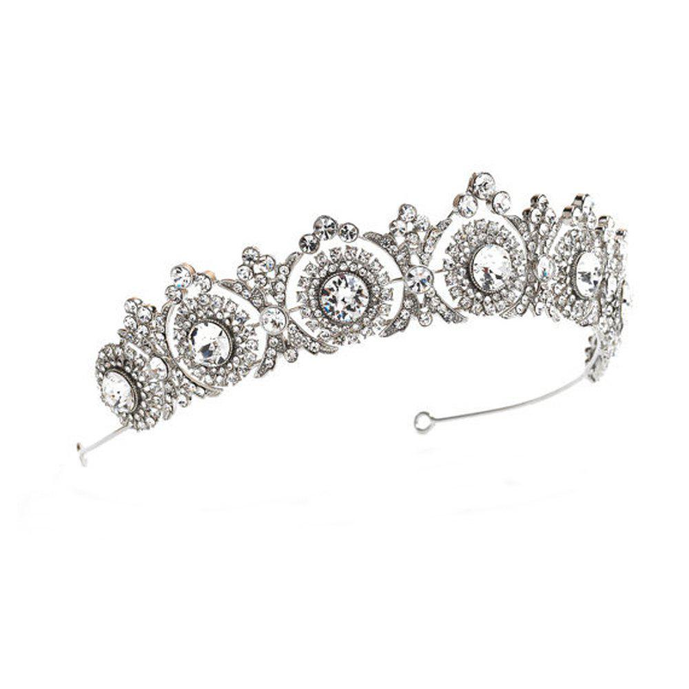 Latest New Fashion Round Diamond An Crown Hair Hoop