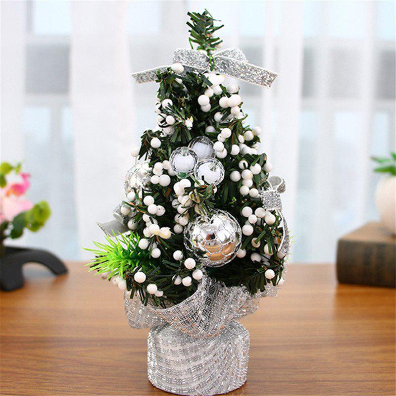 Online 20CM Mini Christmas Tree Holiday Mall Decorations Desktop Ornaments Small Tree