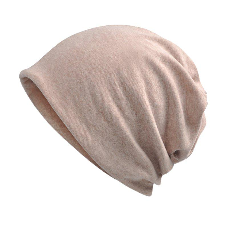 Best Men and Women Windproof Warm Cotton Solid Color Autumn and Winter Dual-use Hat