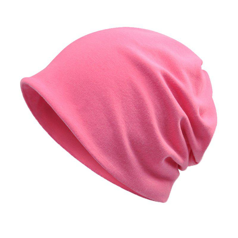 781745a869a Online Men and Women Windproof Warm Cotton Solid Color Autumn and Winter  Dual-use Hat
