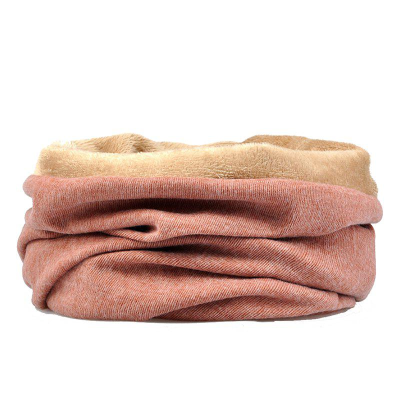 Hot Men and Women Windproof Warm Cotton Solid Color Autumn and Winter Dual-use Hat