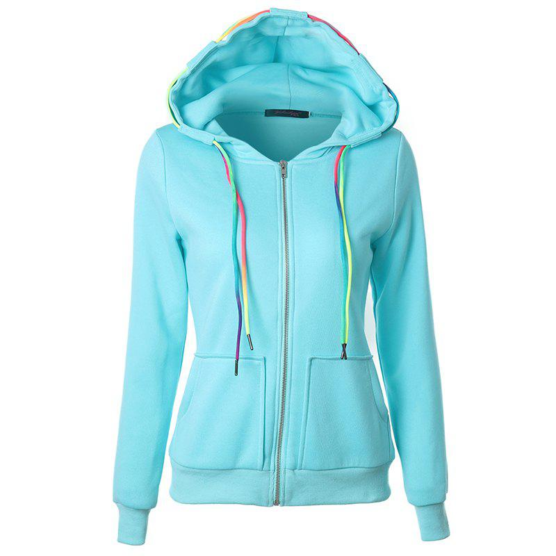 Shop Autumn Leisure Sports Ropes and Hooded Coats