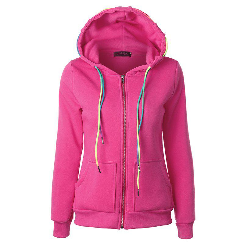 Hot Autumn Leisure Sports Ropes and Hooded Coats