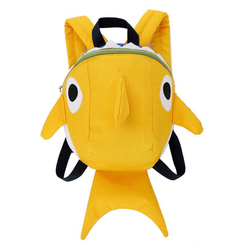 Chic Cartoon Shark Kindergarten 3-7 Years Old Baby Anti-lost Travel Backpack