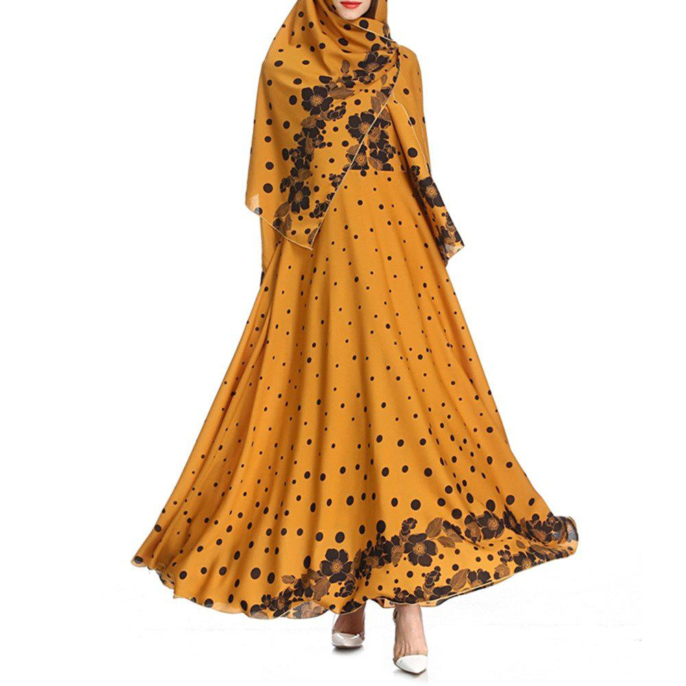 Affordable 2018 Autumn Printed Gorgeous Dress