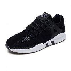 Men Casual Fashion Lace Up Outdoor Anti-Slip Soft Mesh Breathable Shoes -