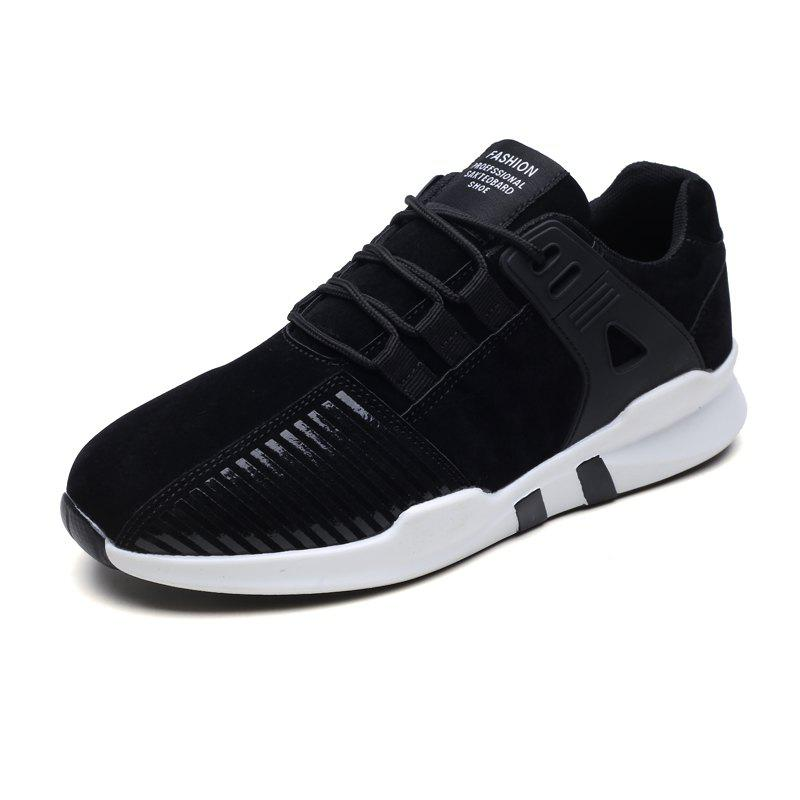 Trendy Men Casual Fashion Lace Up Outdoor Anti-Slip Soft Mesh Breathable Shoes