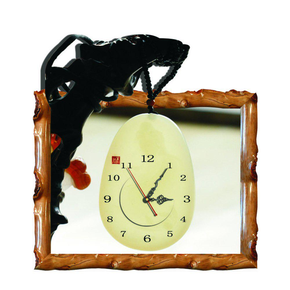 Outfit Wall 3D Clock Sticker for Home Room Decoration Gift