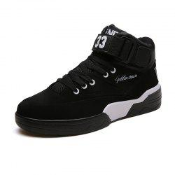 Autumn and Winter New England Men'S High-Top Shoes Retro Casual Shoes -