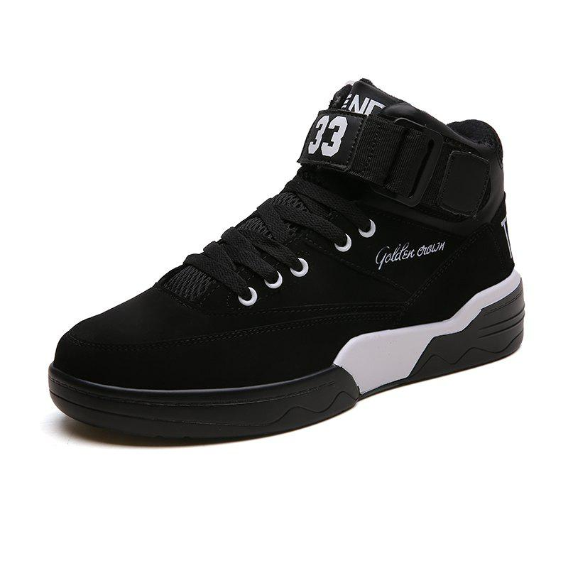 Discount Autumn and Winter New England Men'S High-Top Shoes Retro Casual Shoes